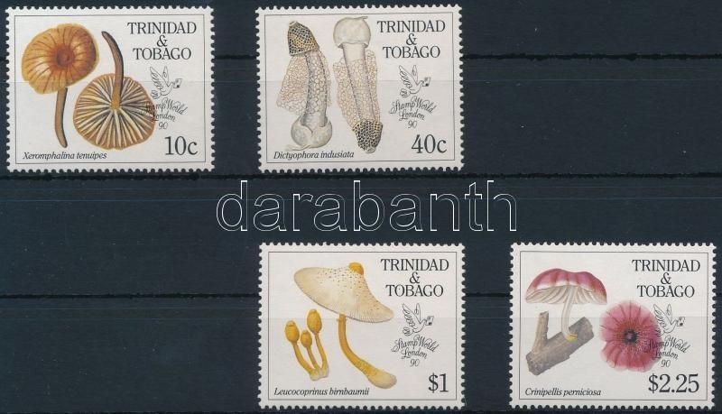 Mushrooms, Stamp Exhibition set, Gomba, bélyegkiállítás sor