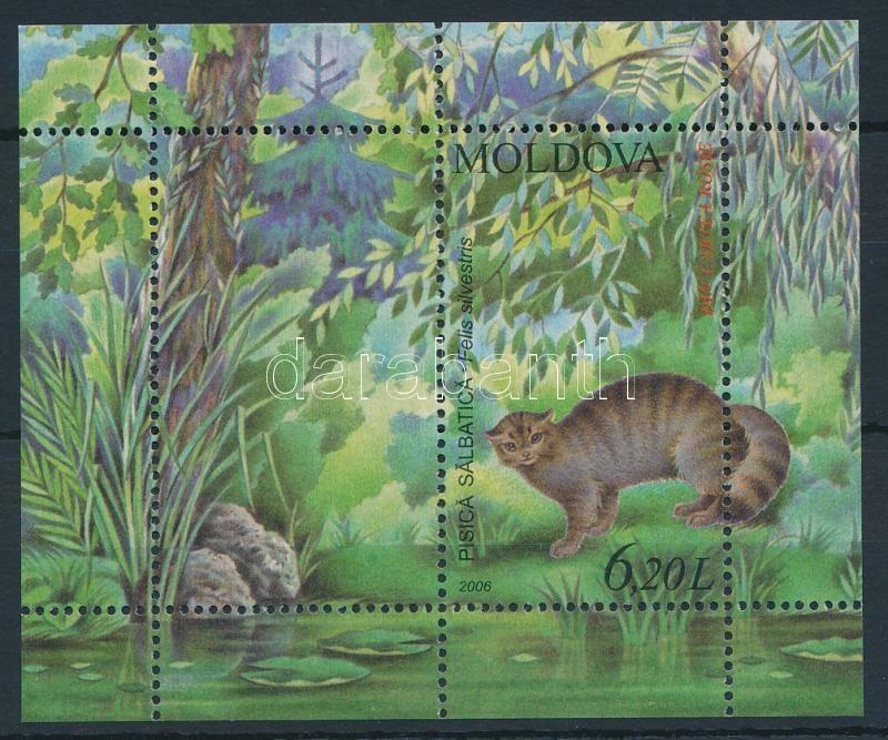Animal - Cat block, Állat - Macska blokk