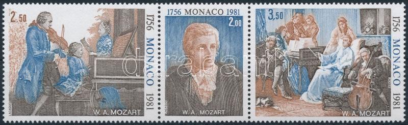 Mozart stripe of 3, Mozart hármascsík
