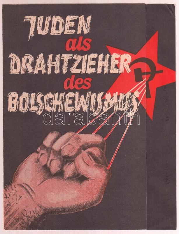 cca 1933 Juden als Drahtzieher des Bolschewismus náci | Darabanth ...
