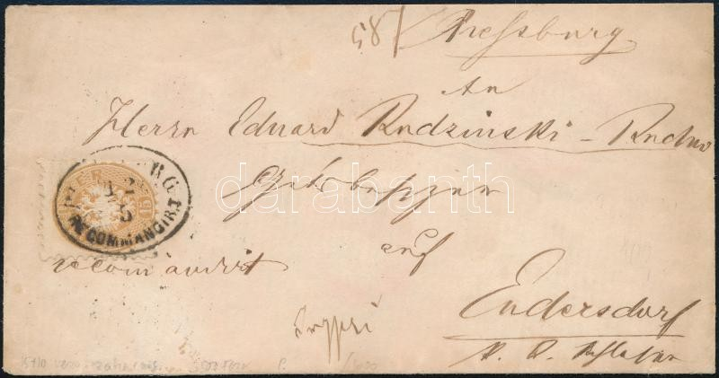 mixed franking on cover