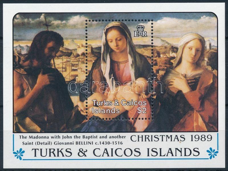 Christmas; Giovanni Bellini painting block, Karácsony; Giovanni Bellini festmény blokk