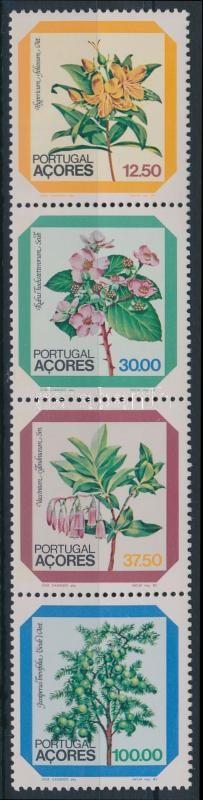 Flowers stamp booklet sheet, Virágok bélyegfüzetlap