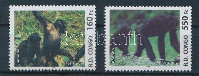 Monkey 2 stamps, Majom 2 klf bélyeg