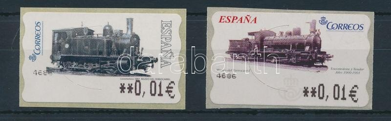 2004-2005 2 Automatic stamps with identical face values, 2004-2005 Automata 2 klf bélyeg azonos névértékkel