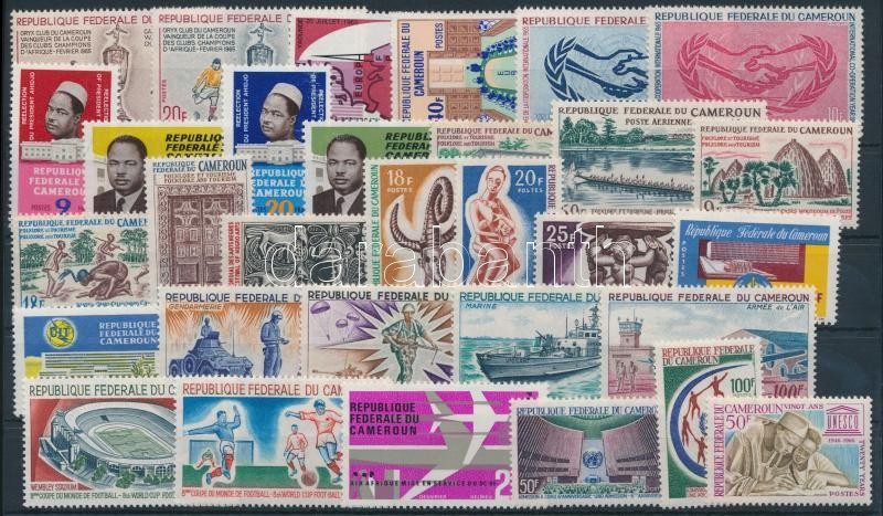 1965-1966 10 sets + 4 stamps, 1965-1966 10 klf sor + 4 klf önálló érték