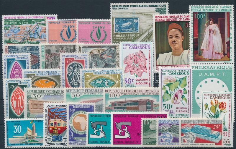 1968-1970 8 sets + 6 stamps, 1968-1970 8 klf sor + 6 klf önálló érték