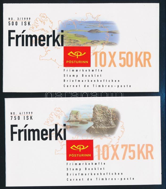 Europa CEPT: National Parks 2 stamp-booklets, Europa CEPT: Nemzeti parkok 2 klf bélyegfüzet