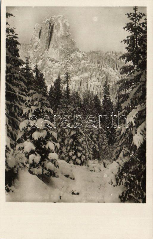 Bicaz Canyon, Oltárkő, winter, Békás szoros, Oltárkő, télen