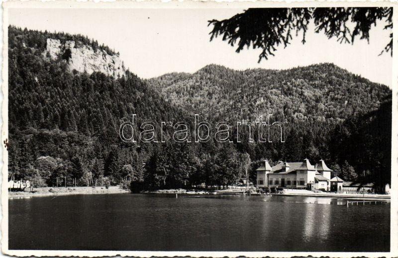 Baile Tusnad, lake, Tusnádfürdő, Medve tó