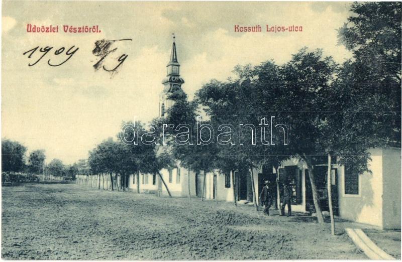 ea7c3cf3dc Vésztő, Kossuth Lajos utca, üzlet, W. L. 1531. (EK)   Darabanth Kft.