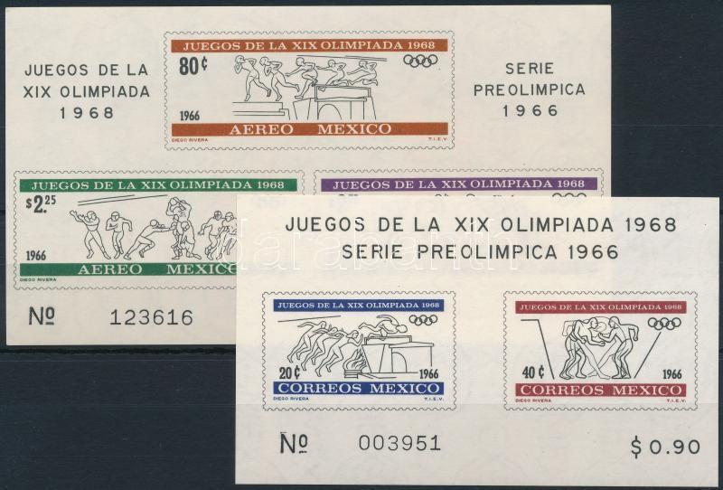 Olympics block set, Olimpia blokksor