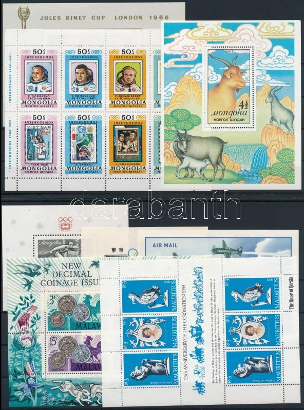 1964-1988 8 block, 1964-1988 8 klf blokk 2 db stecklapon