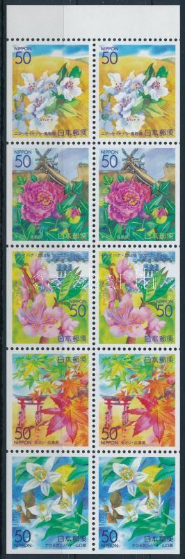 Flower block of 10, Virág 10-es tömb