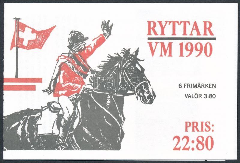 World Equestrian Games stamp-booklet, Világ Lovasjátékok bélyegfüzet