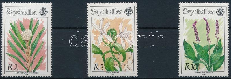 Orchids set 3 values, Orchidea sor 3 értéke