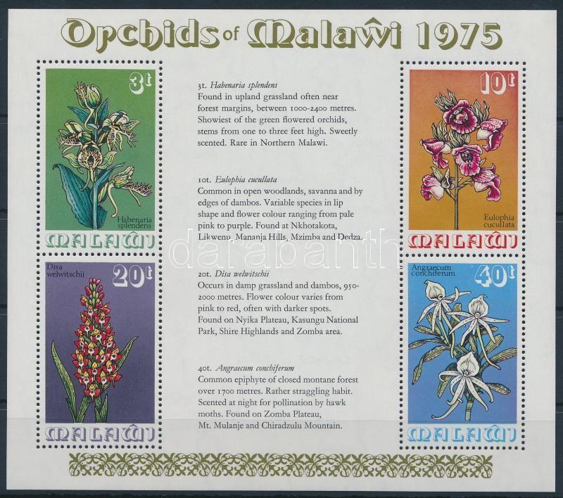 Orchids block, Orchidea blokk