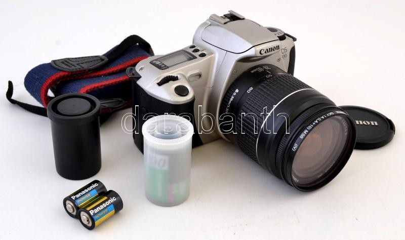 e378dd9e95 Canon Eos 300 tükörreflexes analóg fényképezőgép, Canon EF 28-80mm f3,.