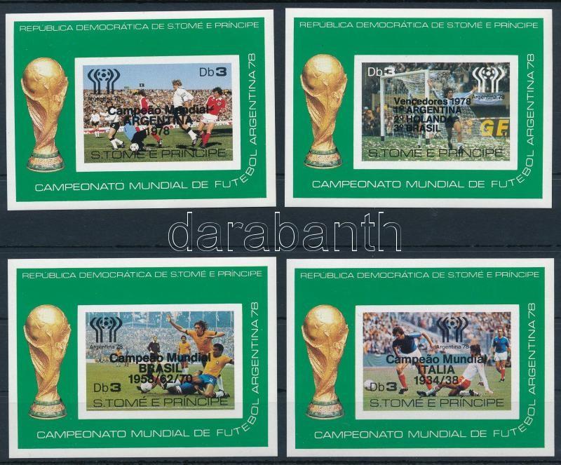 Football World Cup 7 blocks, Labdarúgó VB-k győztesei 7 db blokk