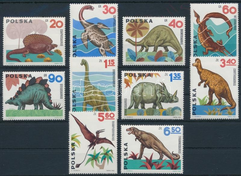 Pre-historic animals set, Őslények sor