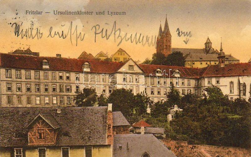 Fritzlar Szent Orsolya rendi kolostor és gimnázium, Fritzlar Ursuline convent and high school