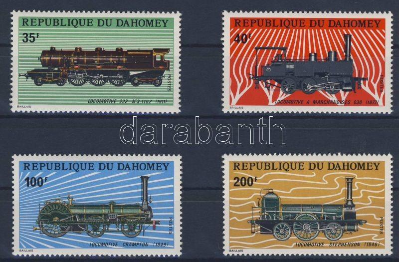 Steam locomotives set, Gőzmozdonyok sor, Dampflokomotiven Satz