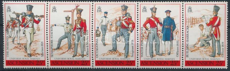 Uniforms stripe of 5, Egyenruha ötöscsík