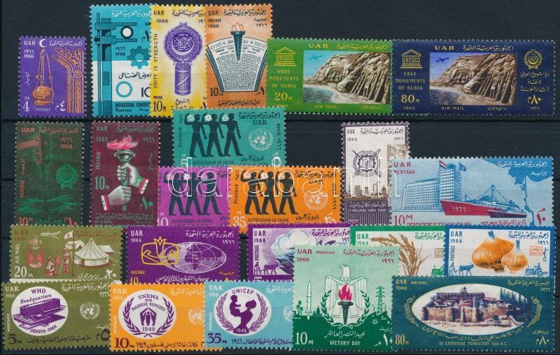23 diff stamps, 23 klf bélyeg