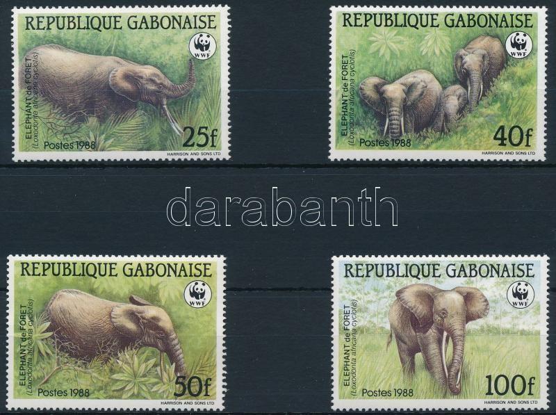 WWF: Elephant set, WWF: Erdei elefánt sor