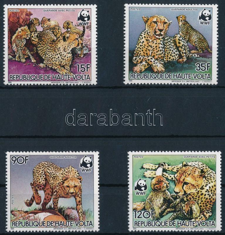WWF Cheetah set, WWF Gepárd sor