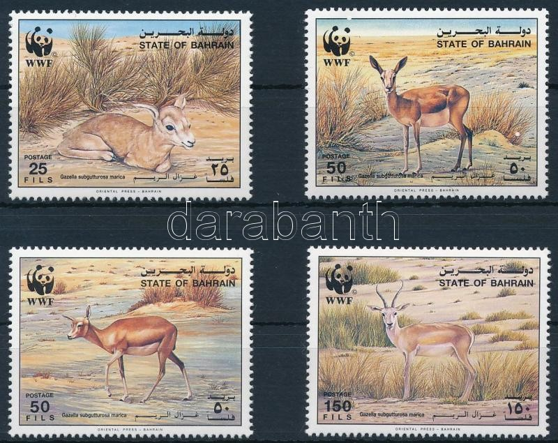 WWF: gazelle set, WWF; Gazellák sor