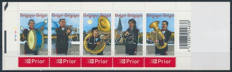 Music stamp booklet, Zene bélyegfüzet