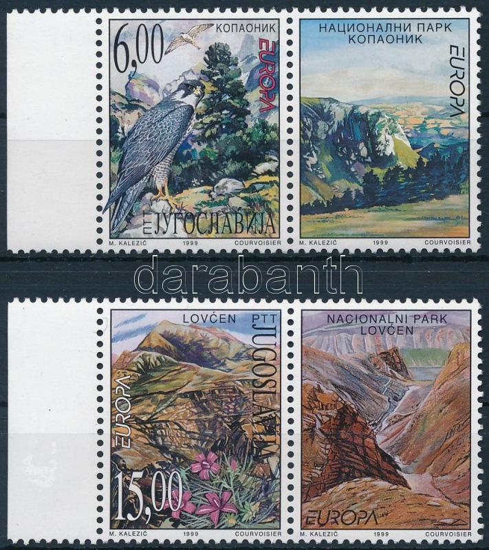 Europa CEPT: National Parks margin coupon set, Europa CEPT: Nemzeti parkok ívszéli szelvényes sor
