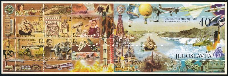 Millennium stamp-booklet, Az ezredforduló bélyegfüzet