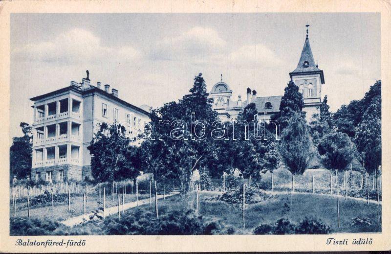 Balatonfüred, Tiszti üdülő