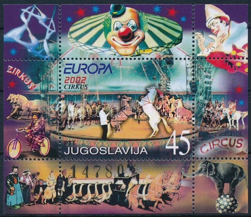 CEPT Europa: Circus block, Europa CEPT: Cirkusz blokk