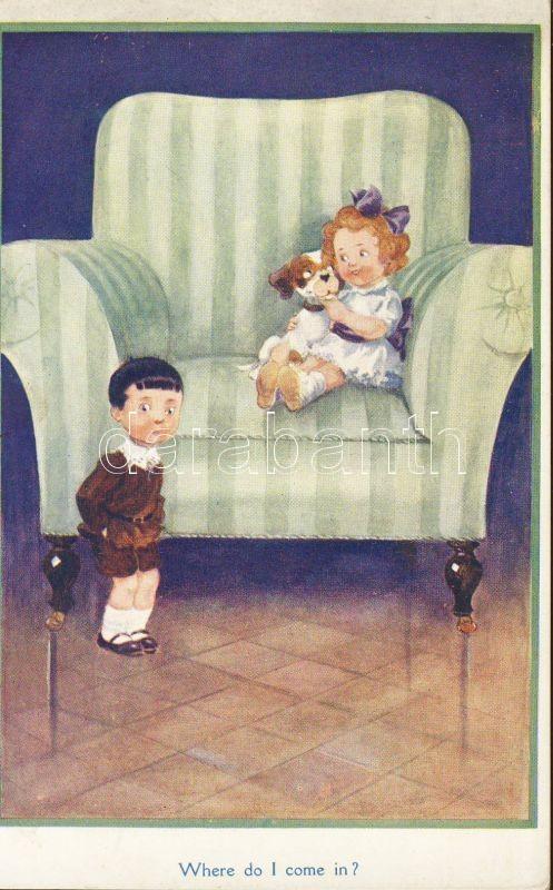 Children, dog, humour, Gyerekek, kutya, humor