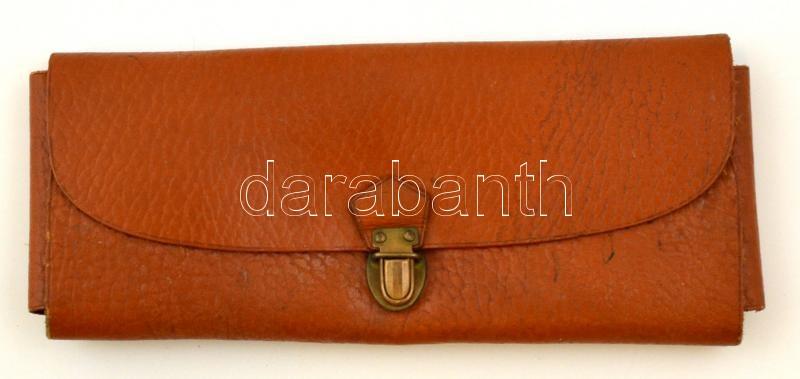 07c009ba77fa Retró bőr tolltartó, 21×9×2 cm | Darabanth Kft.