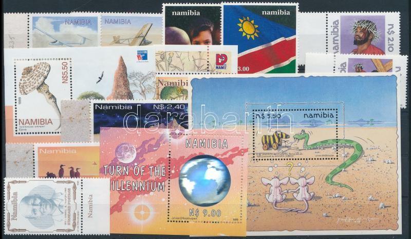 1998-2000 4 set + 3 block + 2 stamp, 1998-2000 4 klf sor + 3 klf blokk + 2 klf önálló érték