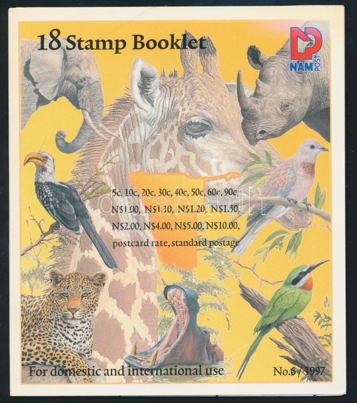 Plants and animals stamp booklet, Növények és állatok bélyegfüzet