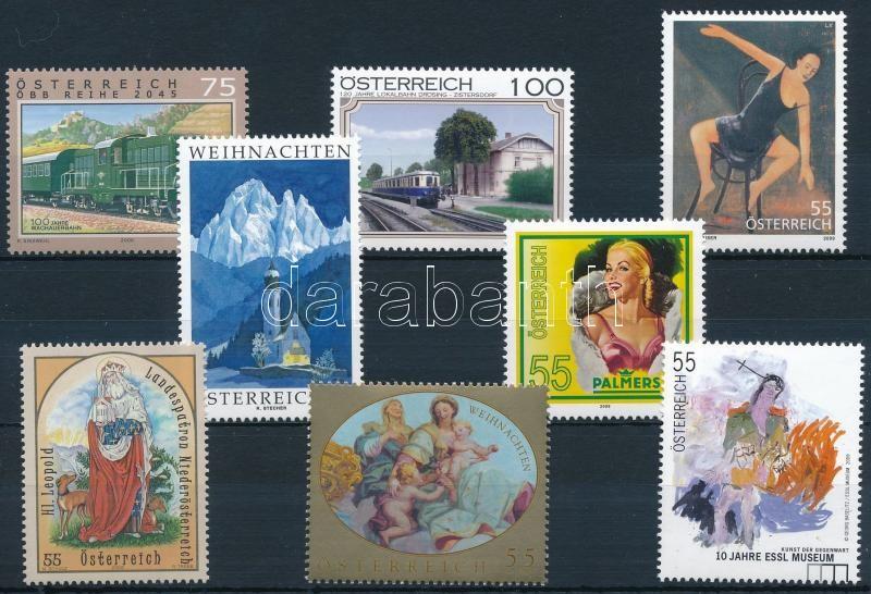 8 stamps, 8 klf bélyeg