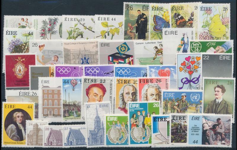 1984-1985 13 set + 3 stamps, 1984-1985 13 klf sor + 3 klf önálló érték