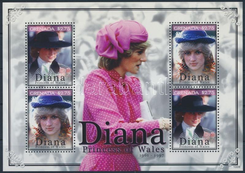 Diana mini sheet, Diana kisív