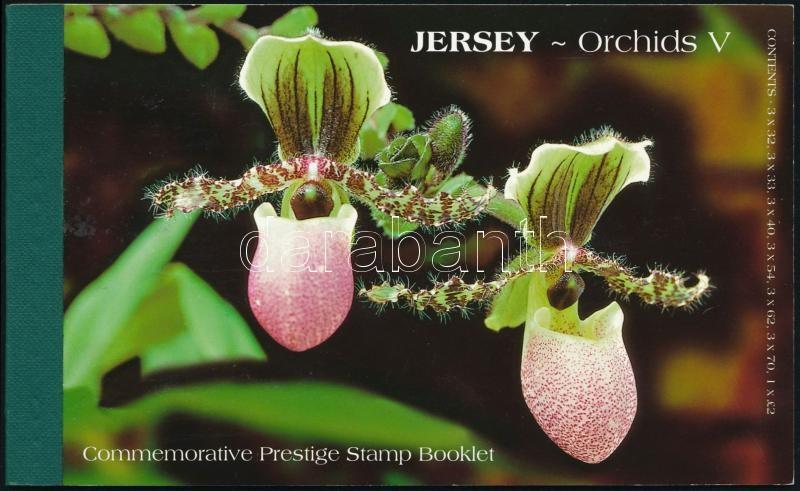 Orchid stamp booklet, Orchidea bélyegfüzet