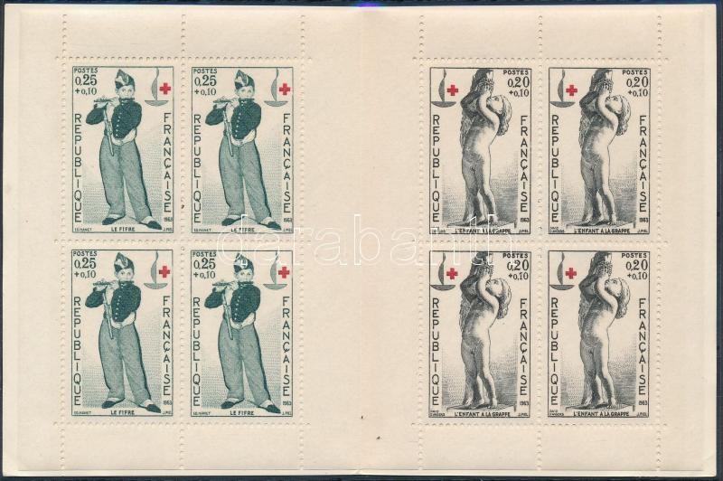 Red Cross stamp-booklet, Vöröskereszt bélyegfüzet