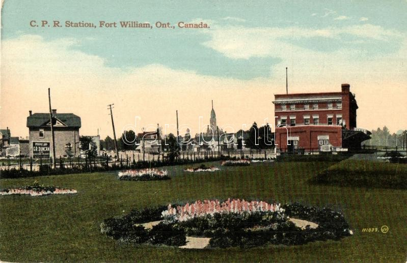 Ontario, Fort Williams, CPR Railway station