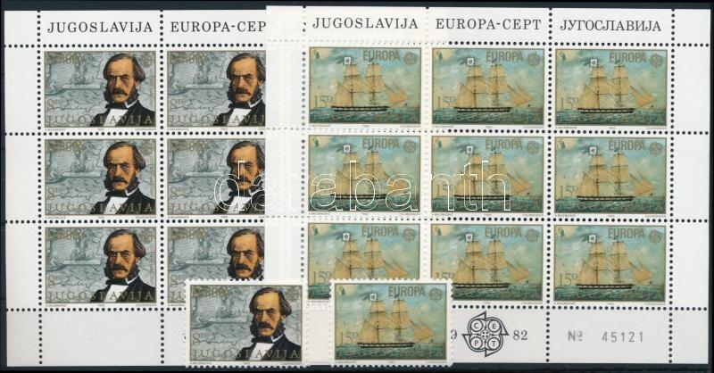 Europa CEPT: Historical events set + mini sheet set, Europa CEPT: Történelmi események sor +  kisívsor