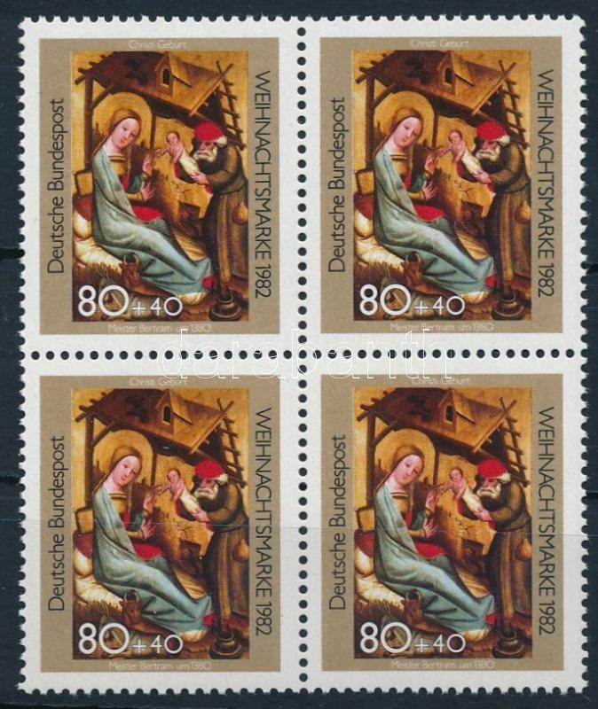 Christmas block of 4, Karácsony 4-es tömb