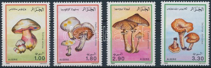 Mushrooms set, Gombák sor