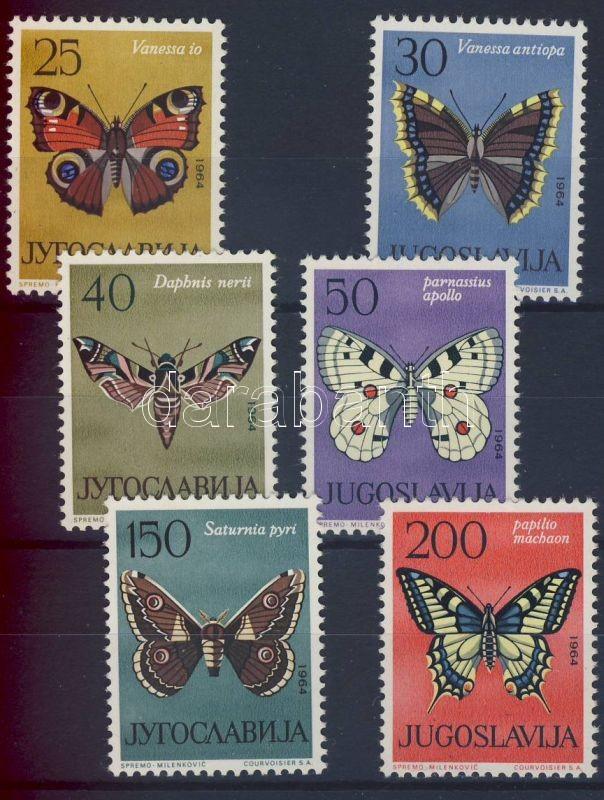 Butterflies set, Lepkék sor, Schmetterlinge Satz